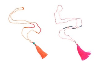 Tribe & Fable Tassel Necklaces